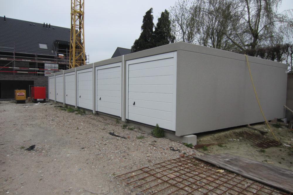 Fundering betongarage betonal for Garage ad agde