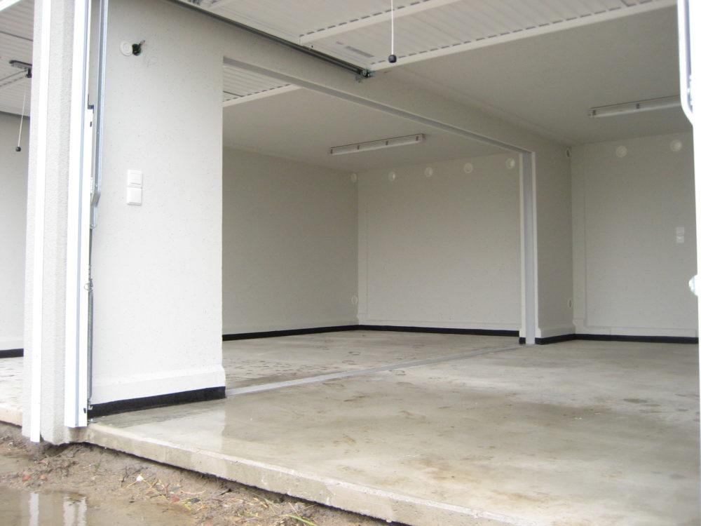 Description technique et finition des garages pr fabriqu s betonal - Garage double prefabrique ...