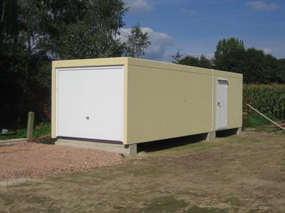 Betonal for Garage en beton en kit