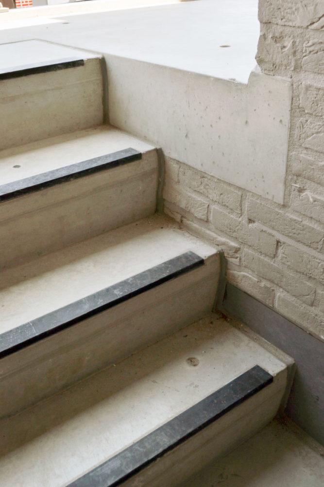 Prefabtrappen in beton ook maatwerk mogelijk betonal for Latex muurverf exterieur