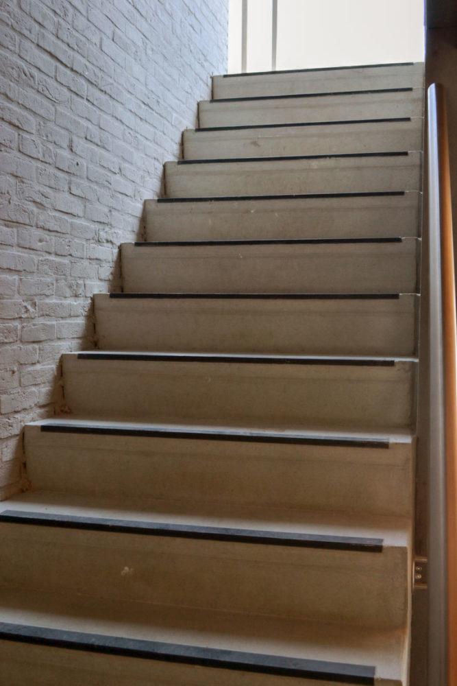 Prefabtrappen in beton ook maatwerk mogelijk betonal - Eigentijds trap beton ...