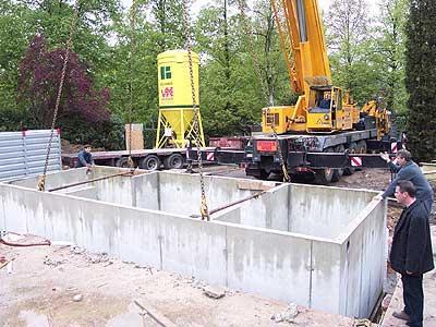 Prefab Kelder Prijs : Prefabkelders in beton een voordelige kant en klare kelder betonal