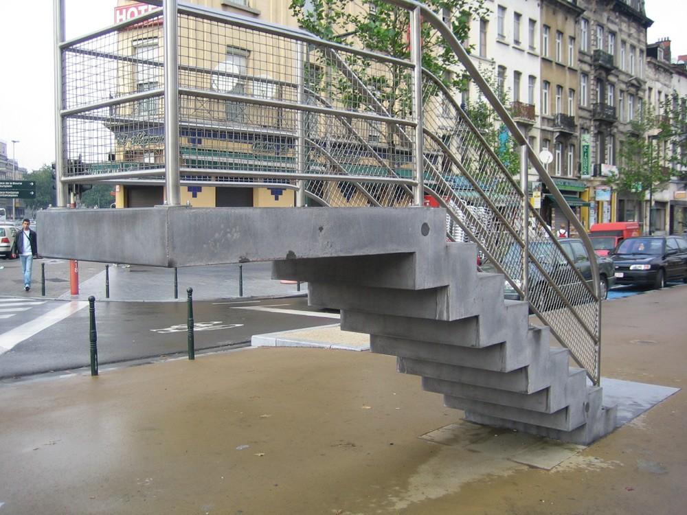 Betonal for Escalier prefabrique