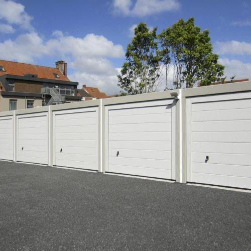 prefab garages in beton voor appartementen