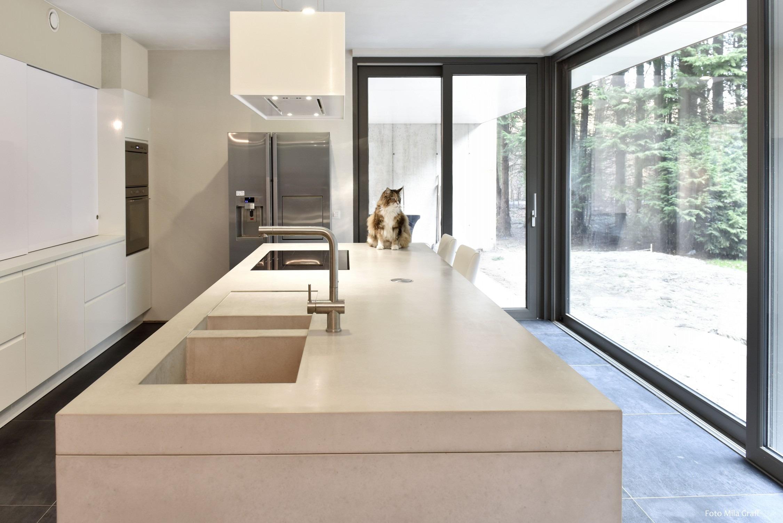 Keuken Van Beton : Beton ciré keuken betoncirevakman specialist in beton ciré