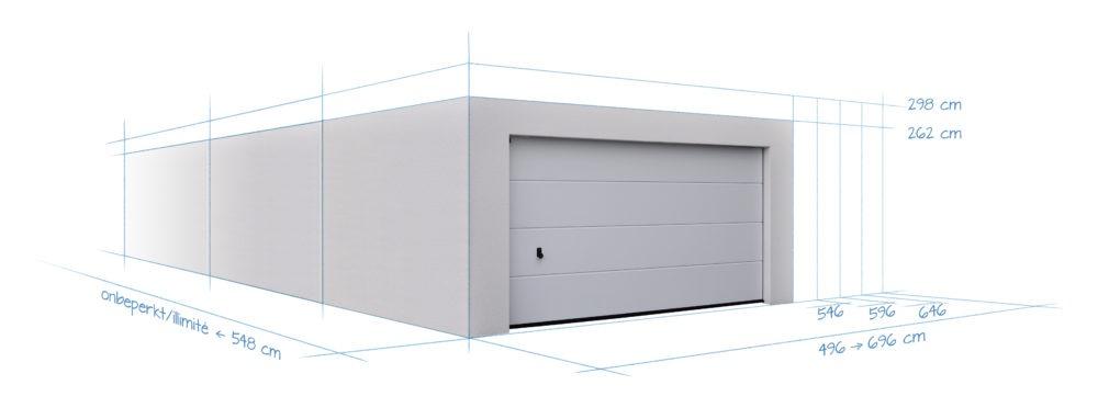 garage double en b ton betonal. Black Bedroom Furniture Sets. Home Design Ideas
